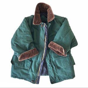 Vintage London Fog Green 4 Pocket Jacket Coat S 4
